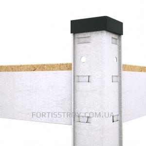 Полочный стеллаж 2000х1200х600, 5 полок ДСП до 200 кг