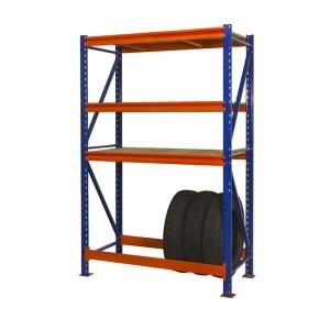 Поличковий стелаж 2000х1230х500 мм з ярусом для зберігання шин