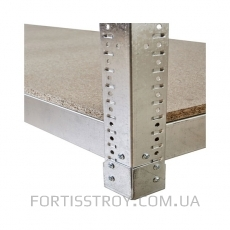 Полочный стеллаж 2500х1840х600, 5 полок ДСП до 300 кг